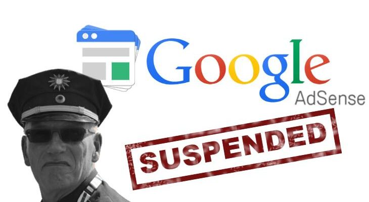 Google AdSense sospeso
